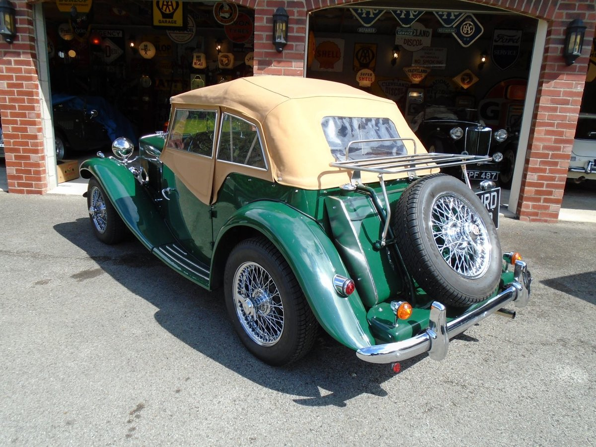 1953 MG TD Supercharged, 5 Speed  SOLD (picture 4 of 6)