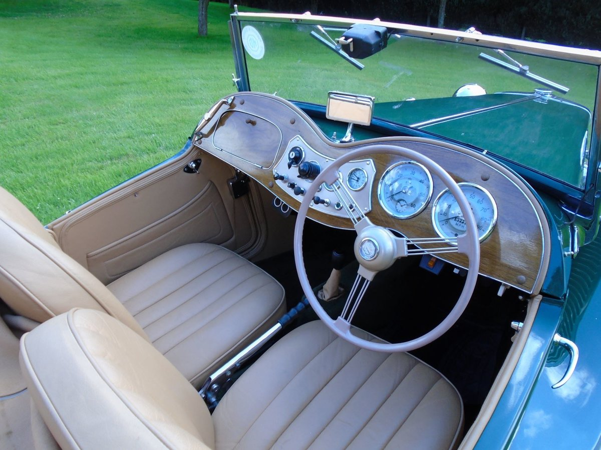 1953 MG TD Supercharged, 5 Speed  SOLD (picture 5 of 6)
