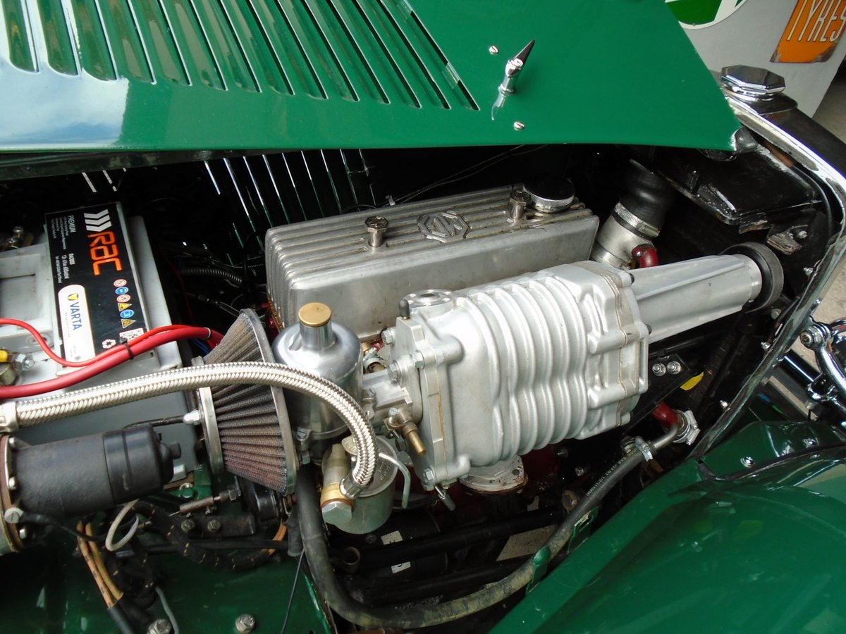 1953 MG TD Supercharged, 5 Speed  SOLD (picture 6 of 6)