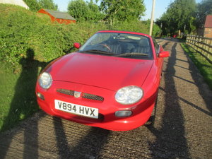 1999 Clean red VVC with leather seats 59k service history