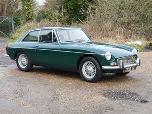 MG B GT, 1971, BRG - Left Hand Drive For Sale