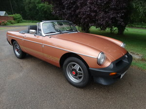 1981 MGB LE *ONLY 5,400 MILES* For Sale