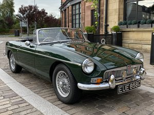 MGB Roadster - Beautiful restored car - Overdrive