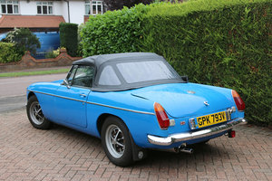 MGB ROadster 1980, Chrome Bumper Conversion, 51000 Miles