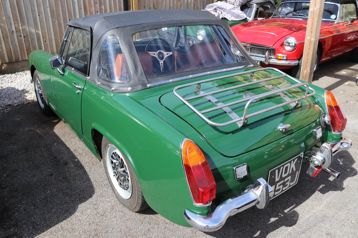 1970 MG Midget, 1275cc, full rebuild SOLD (picture 2 of 6)
