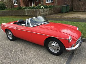 1980 MGB convertible - don't miss the summer!