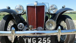 MGTC EXU 1949 Rare