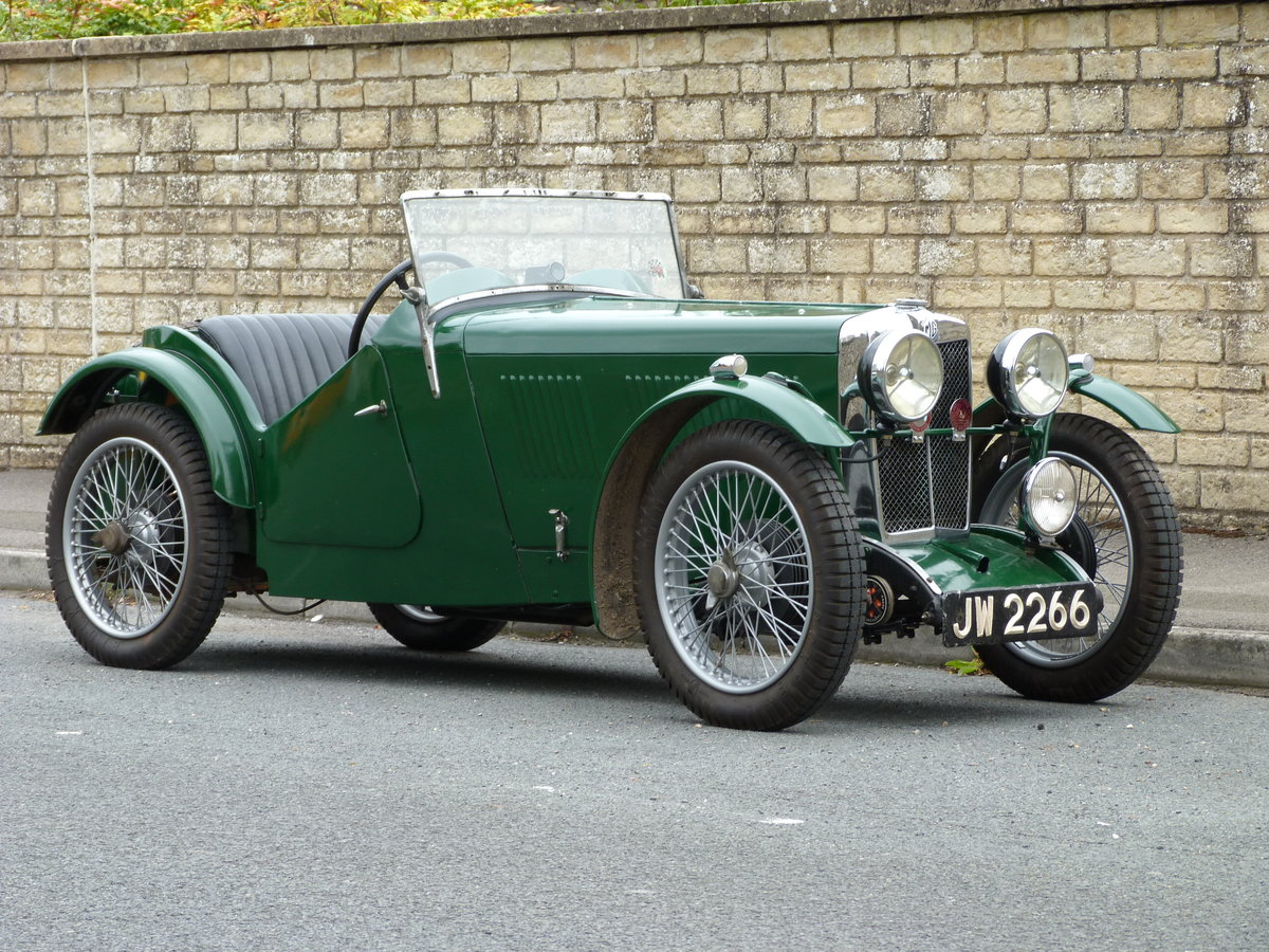 1932 MG J2 Midget For Sale (picture 1 of 6)
