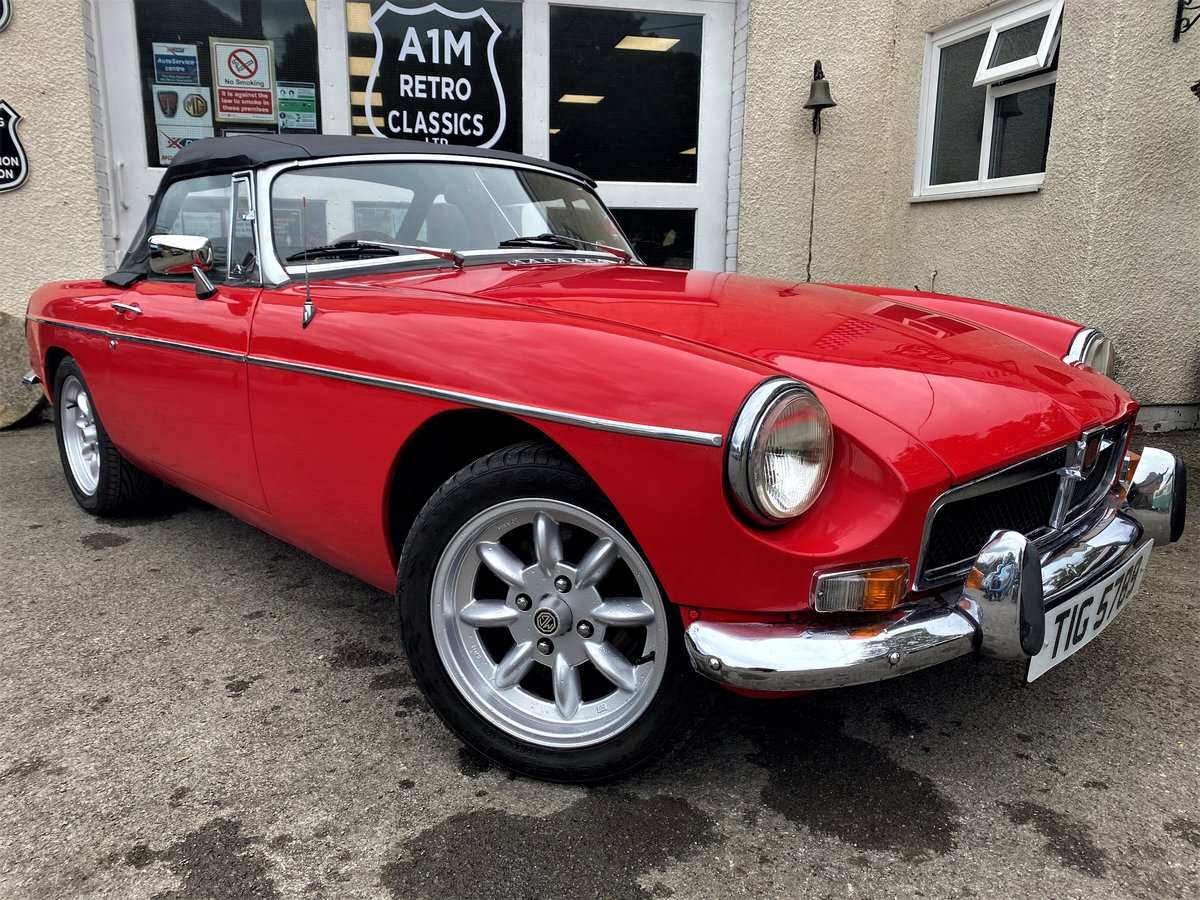 1973 MG B ROADSTER For Sale (picture 1 of 6)