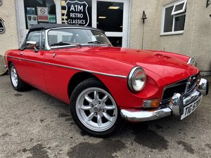 1973 https://www.a1mretroclassics.co.uk/cars/mg/mgb/roadster/3490 For Sale