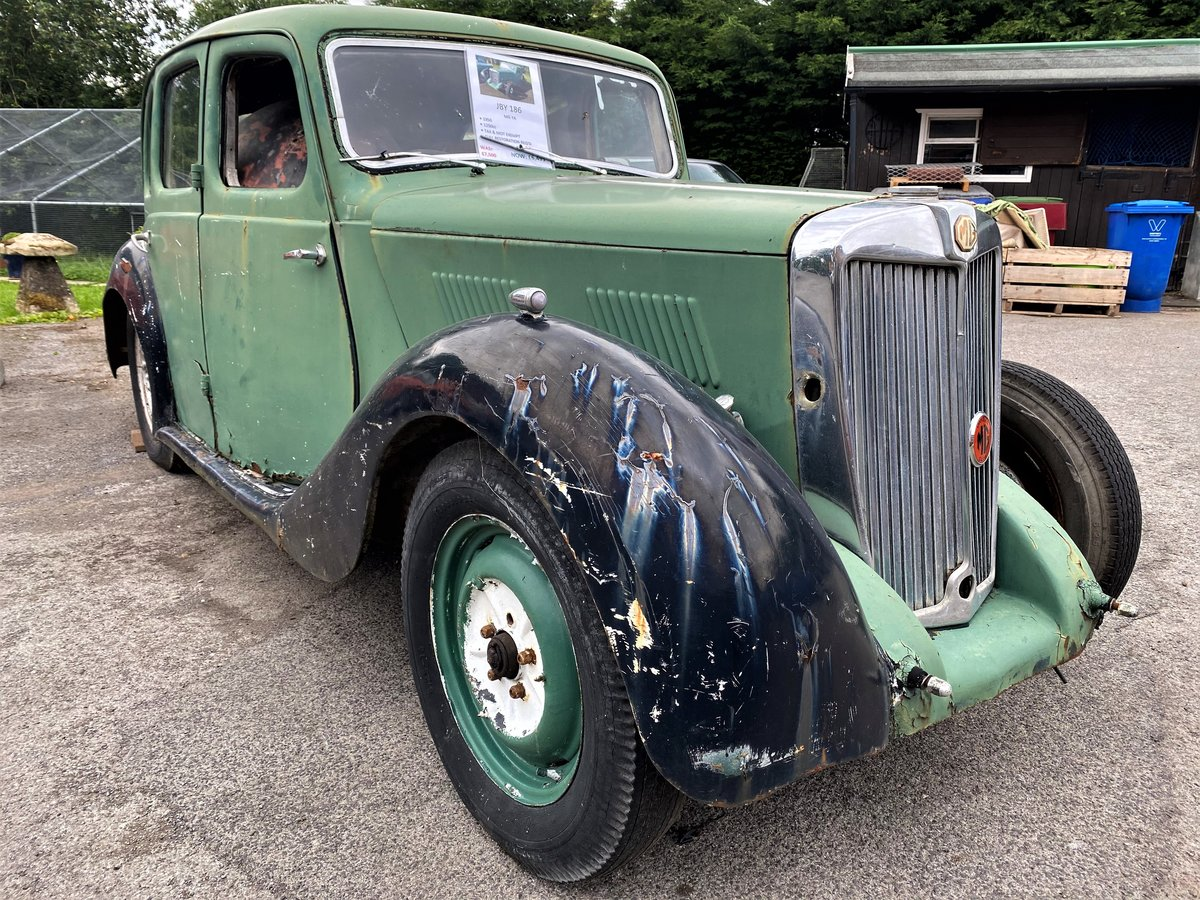 1950 MG YA - Restoration Project For Sale (picture 1 of 6)