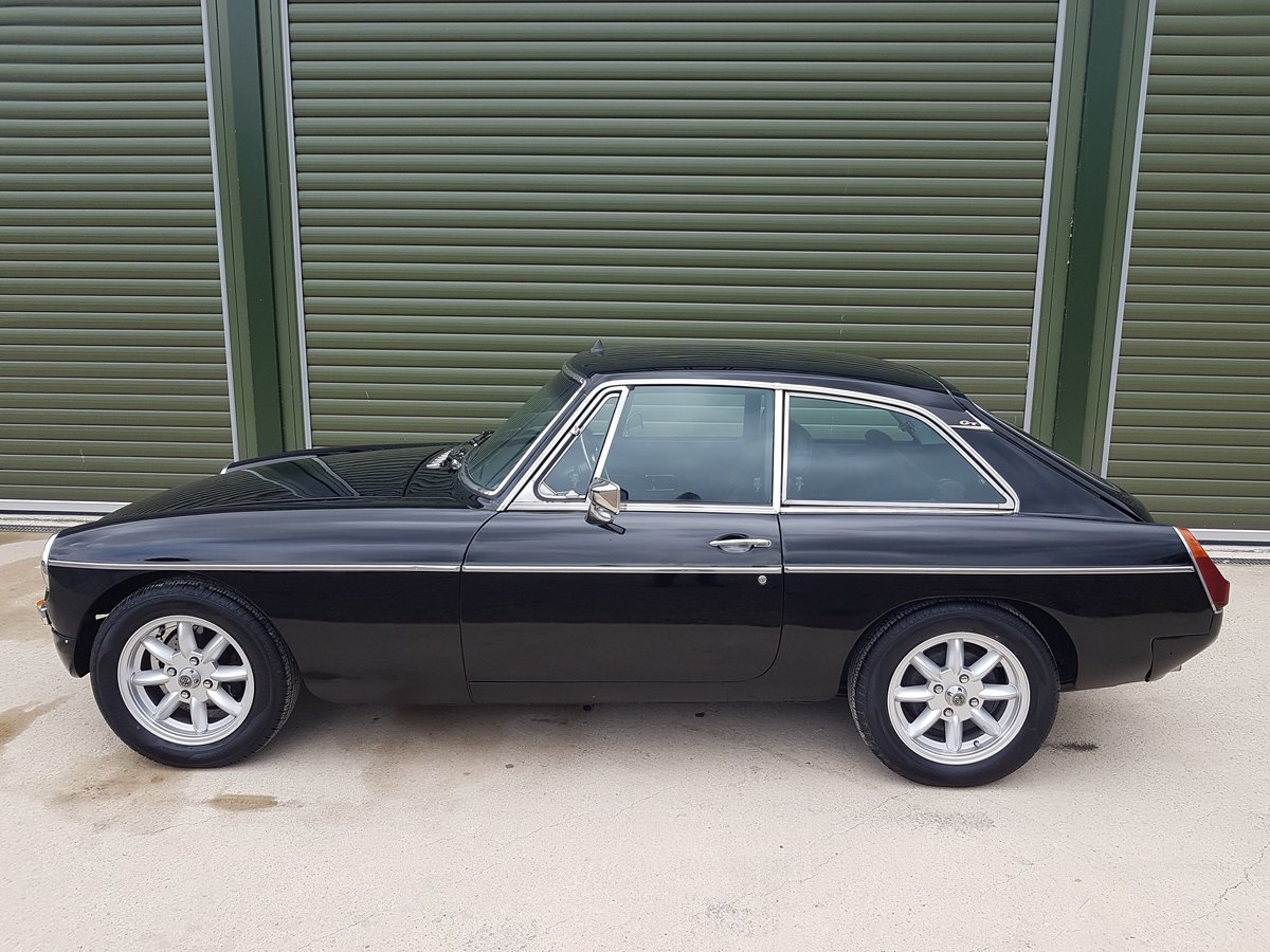 1978 MGB GT V8. Heritage Shell. Rover V8. 5-Speed box SOLD (picture 3 of 6)