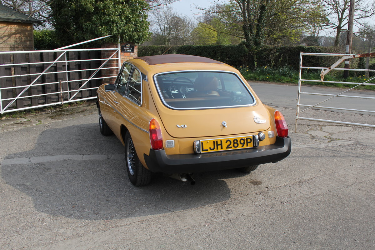 1976 MGB GT V8, Timewarp Condition For Sale (picture 4 of 16)