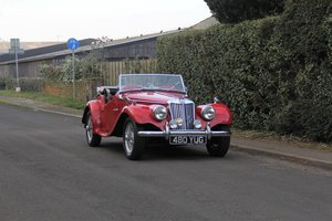 1954 MG TF 1250, Fully Rebuilt Engine
