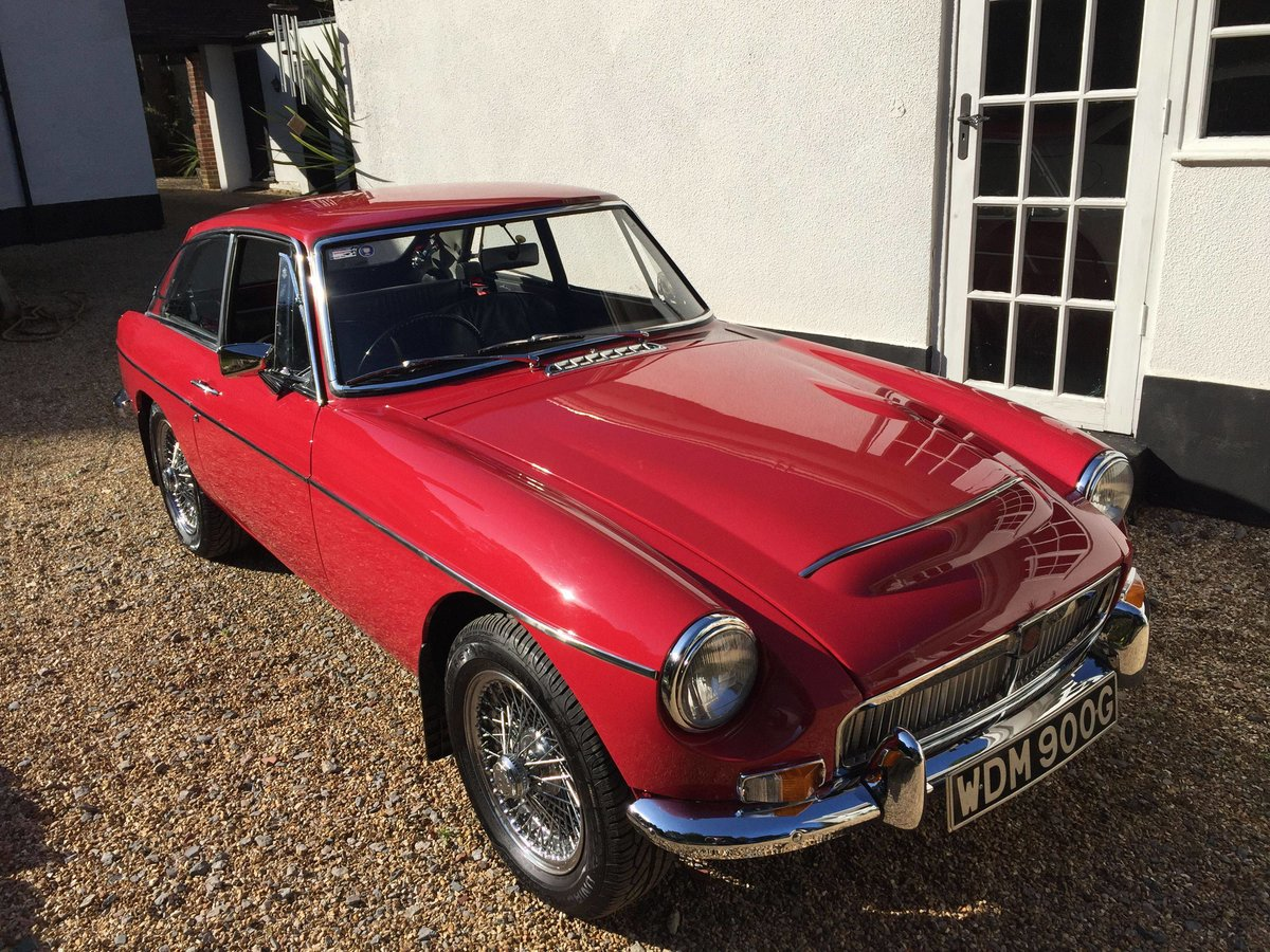 1969 MGCGT 3.0 SPORTS COUPE with overdrive SOLD (picture 1 of 6)