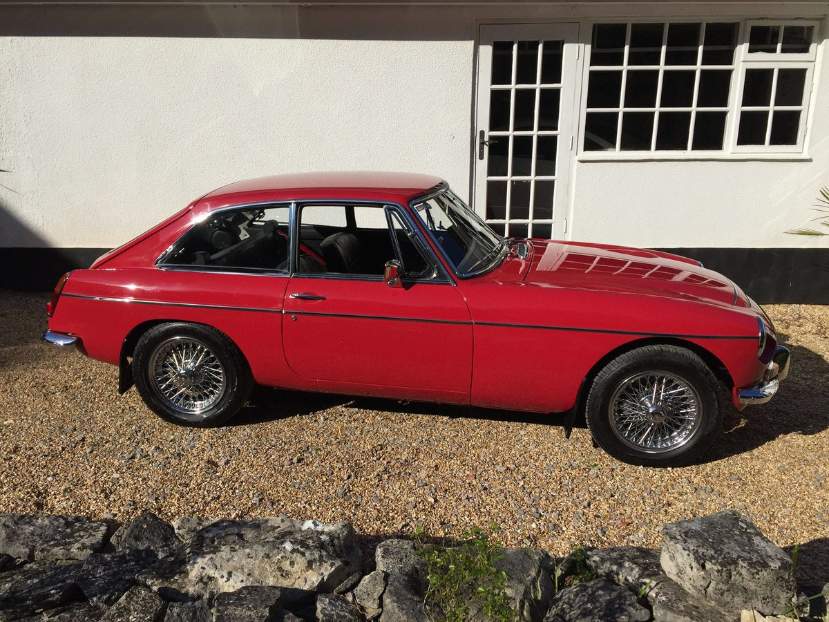 1969 MGCGT 3.0 SPORTS COUPE with overdrive SOLD (picture 2 of 6)