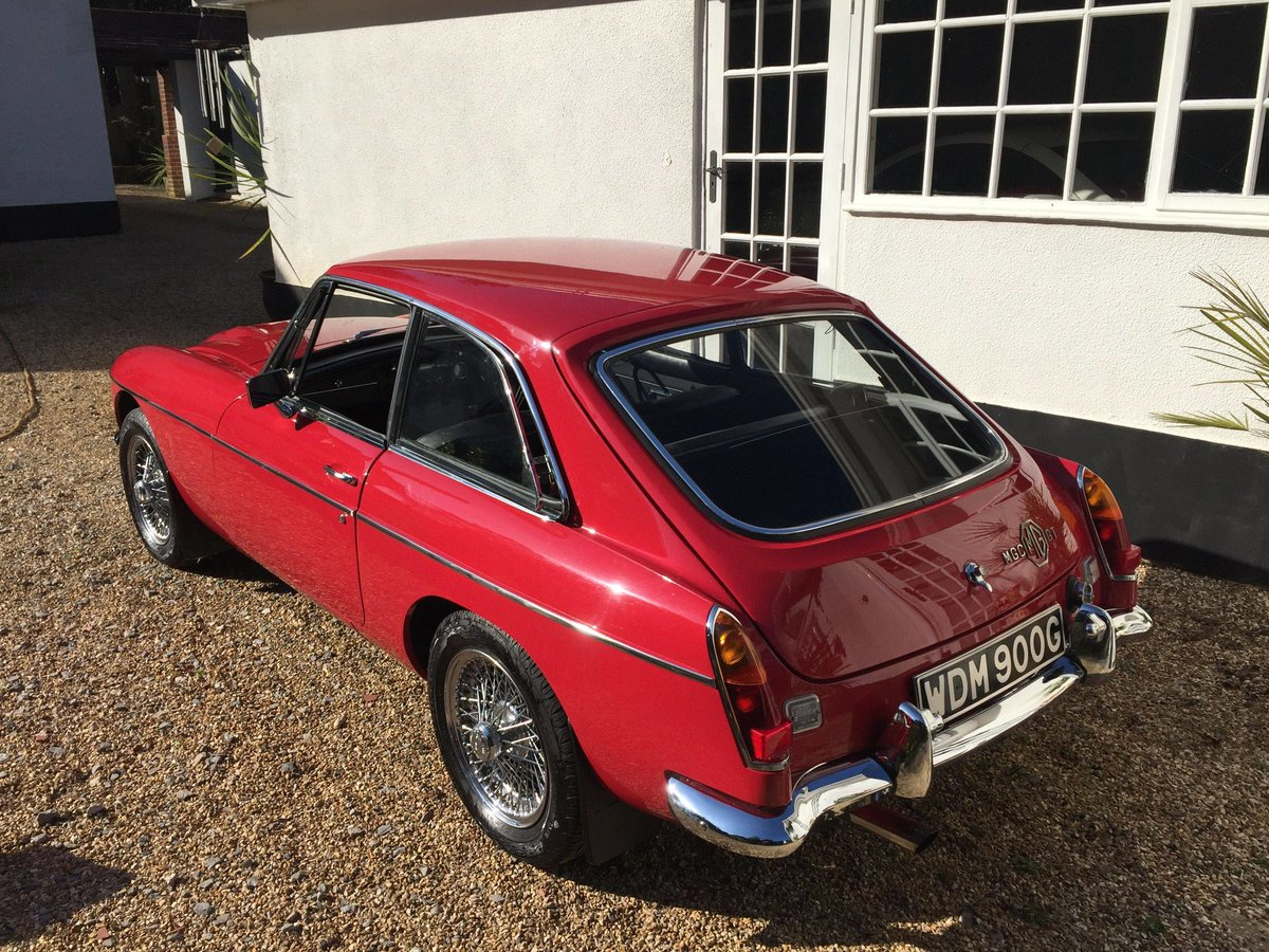 1969 MGCGT 3.0 SPORTS COUPE with overdrive SOLD (picture 3 of 6)
