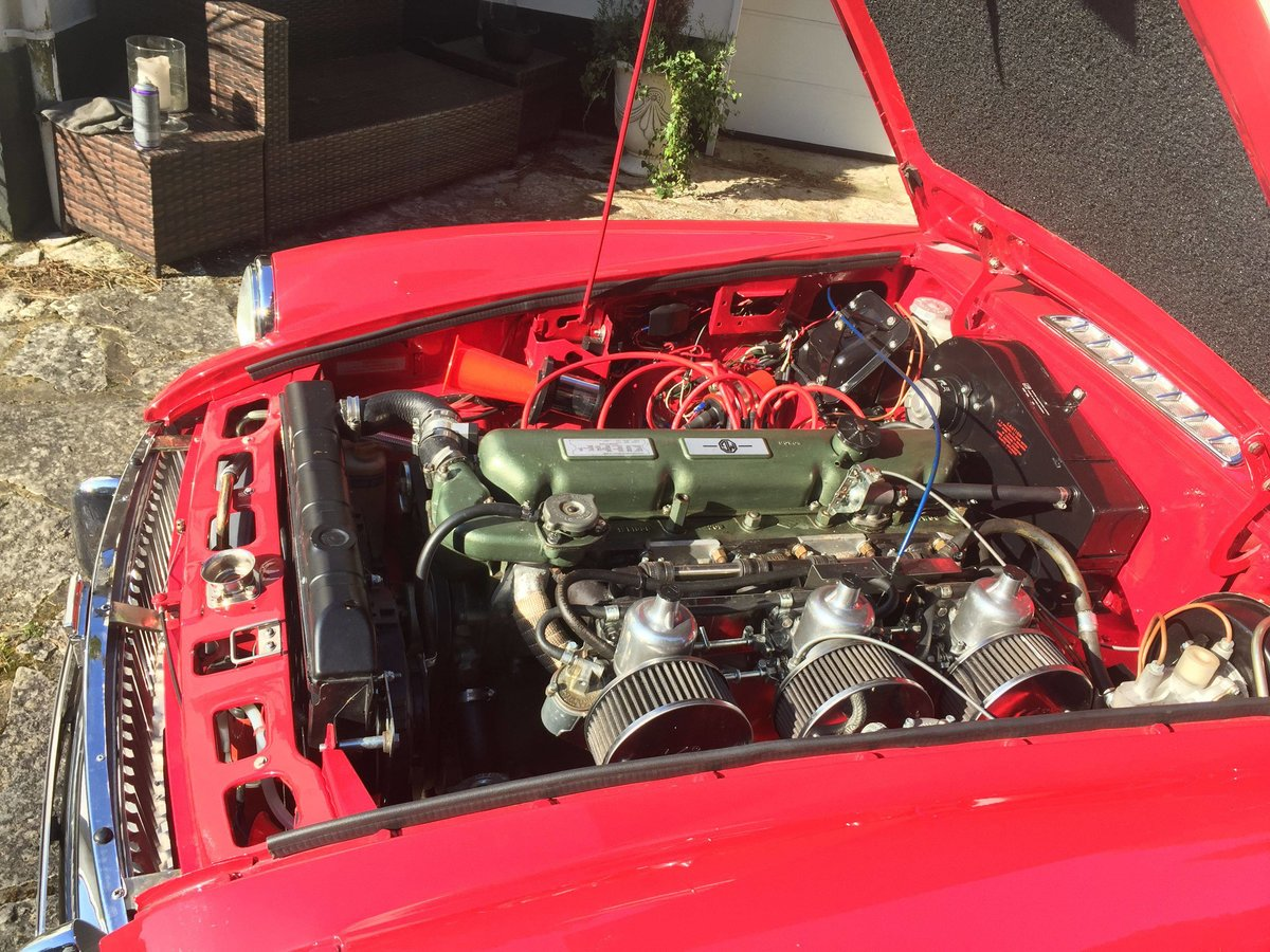 1969 MGCGT 3.0 SPORTS COUPE with overdrive SOLD (picture 5 of 6)