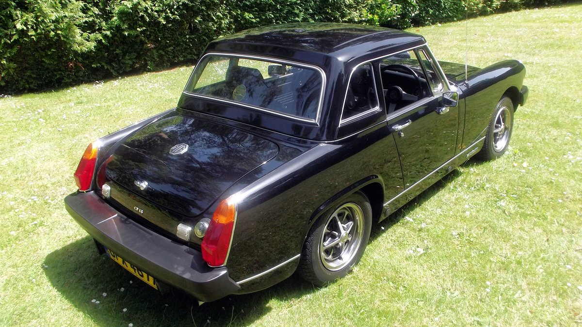 1982 MG MIDGET 1500 SPORTS LIMITED EDITION SOLD (picture 2 of 6)