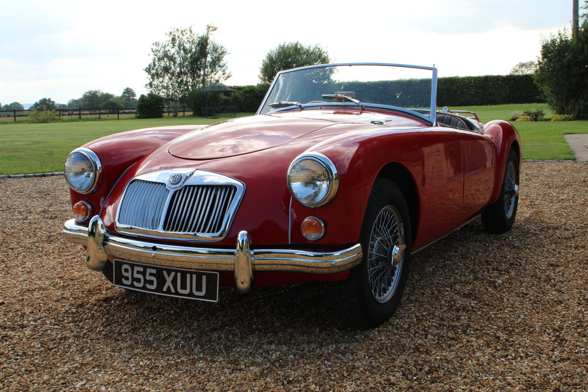 1960 MG A 1600 MK1  For Sale (picture 7 of 18)