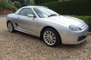 2003 MGTF160 in Starlight Silver in Excellent Condition
