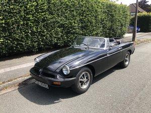 1978 Stunning mgb roadster (restored) black