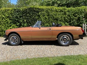 MGB Roadster Limited edition, one of only 420