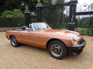 1981 MGB LE *ONLY 5,400 MILES*