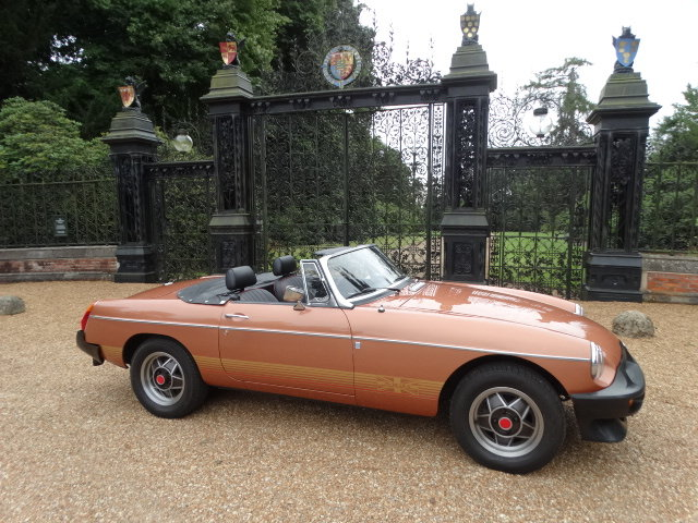 1981 MGB LE *ONLY 5,400 MILES* For Sale (picture 2 of 6)