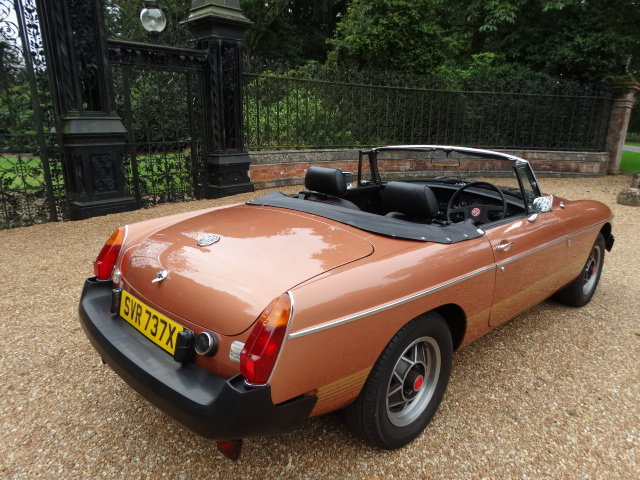 1981 MGB LE *ONLY 5,400 MILES* For Sale (picture 4 of 6)