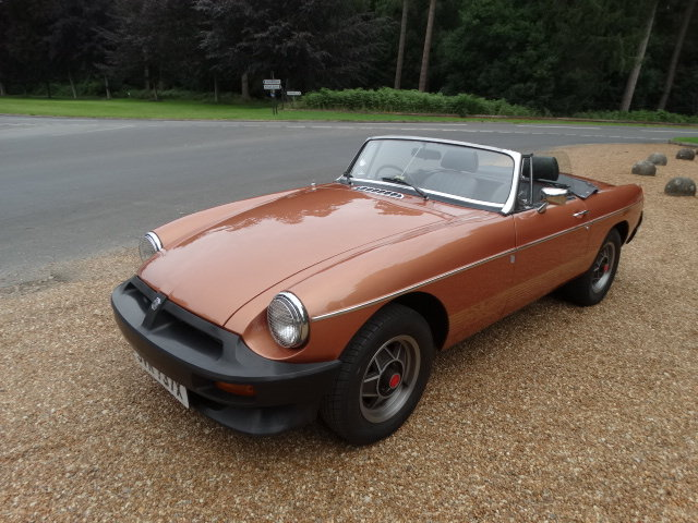 1981 MGB LE *ONLY 5,400 MILES* For Sale (picture 5 of 6)