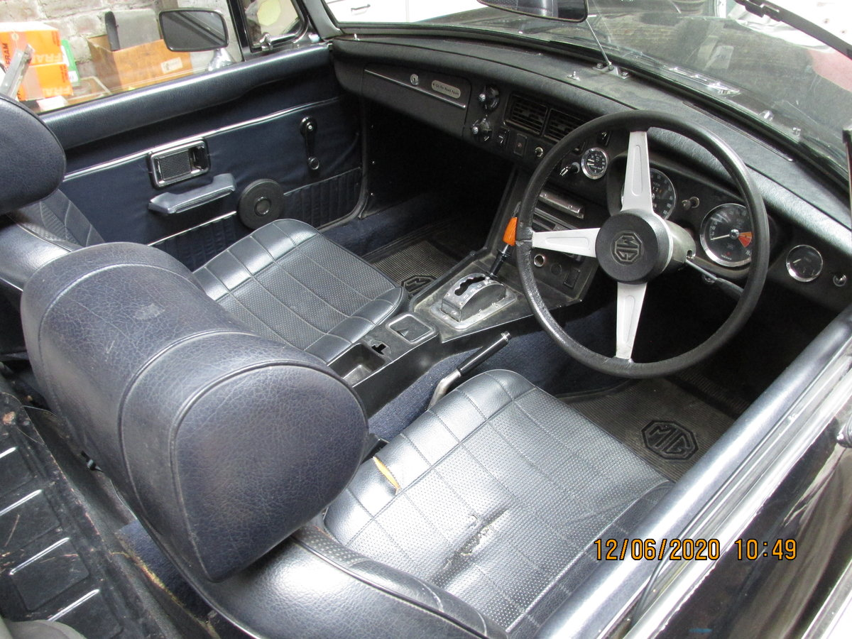 1973 Rare automatic mgb roadster For Sale (picture 3 of 4)