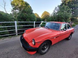 1981 MG B GT