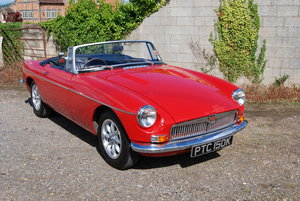 1972 MGB Roadster, Service & MOT, Very smart, Overdrive, Minilite SOLD