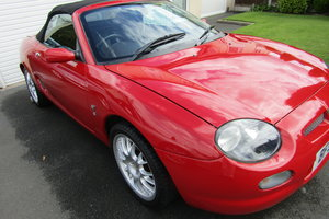 2001 MGF 1.8 75k, History, long MOT,SUPERB.