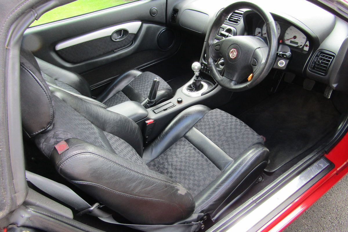 2001 MGF 1.8 75k, History, long MOT,SUPERB. For Sale (picture 2 of 6)