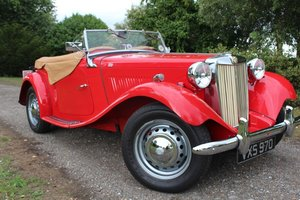 1952 MG TD 1250 FULLY RESTORED For Sale