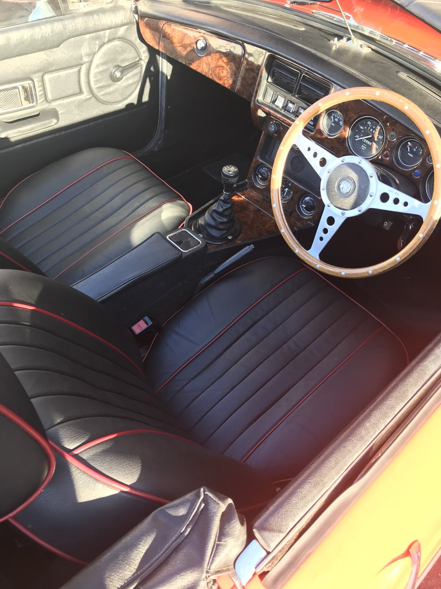 1981 MGB roadster  For Sale (picture 5 of 6)