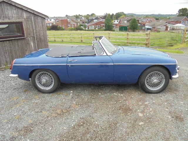 MGC Roadster 1968 For Sale (picture 1 of 5)
