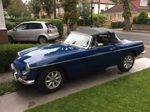 1966 MGB Roadster - Mineral Blue
