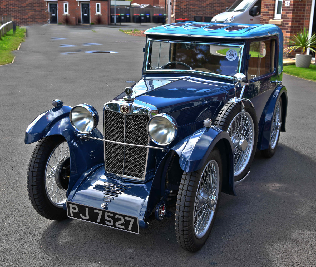 1932 MG D-type Midget Salonette For Sale (picture 1 of 6)