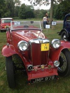 1938 MG TA Convertible