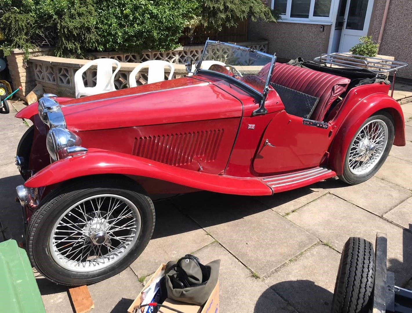 1938 MG TA Convertible For Sale (picture 4 of 6)
