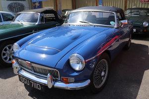 1966 MGB V8 Roadster, HERITAGE SHELL, Full spec