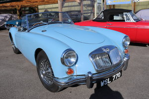 Picture of 1960 MGA 1600 MK1, Iris Blue, 5 speed For Sale
