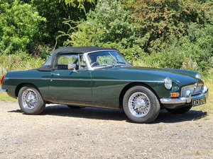 Picture of MG B Roadster, 1972, British Racing Green For Sale