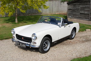 1974 MG Midget MkIII, RWA, Searle Eng, Service/MoT, Restored, VGC For Sale