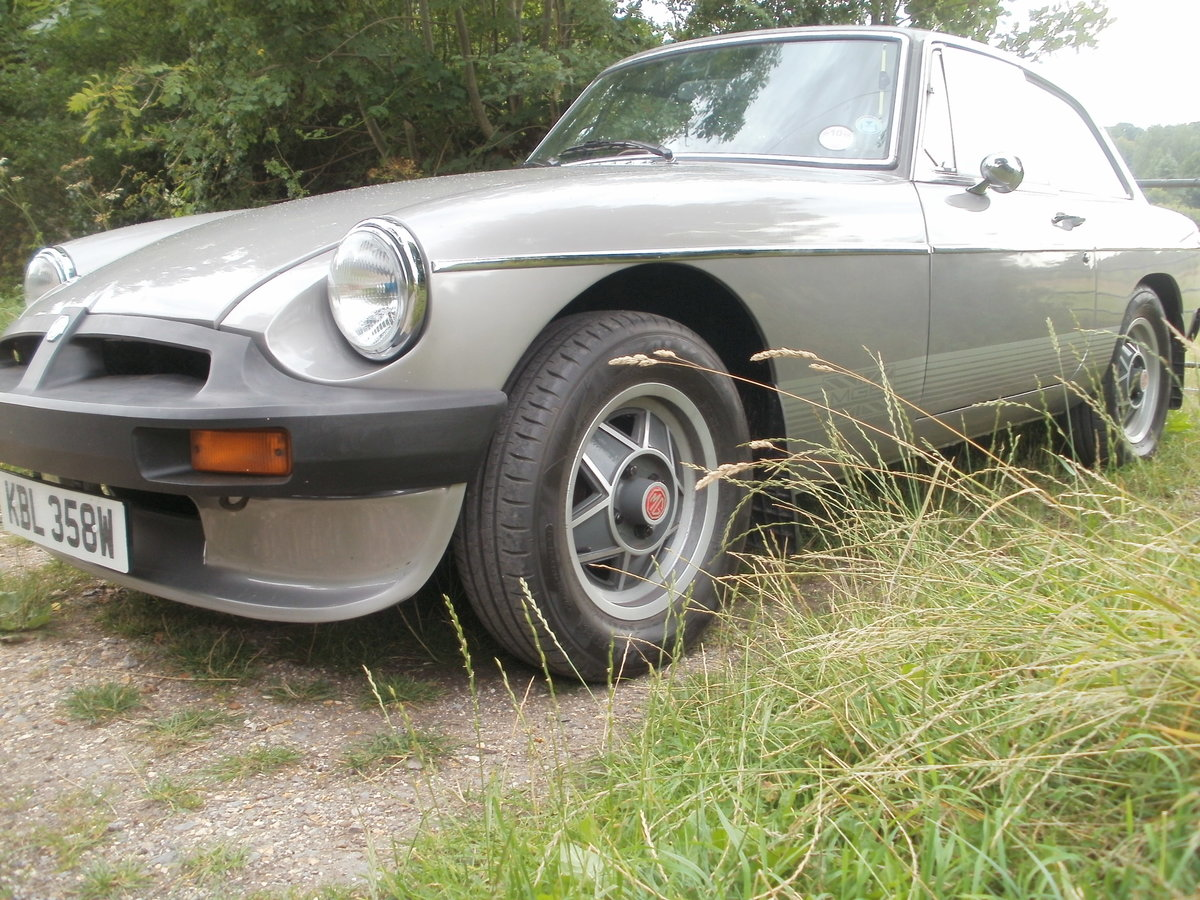 1981 mgbgt one of the best available SOLD (picture 2 of 6)