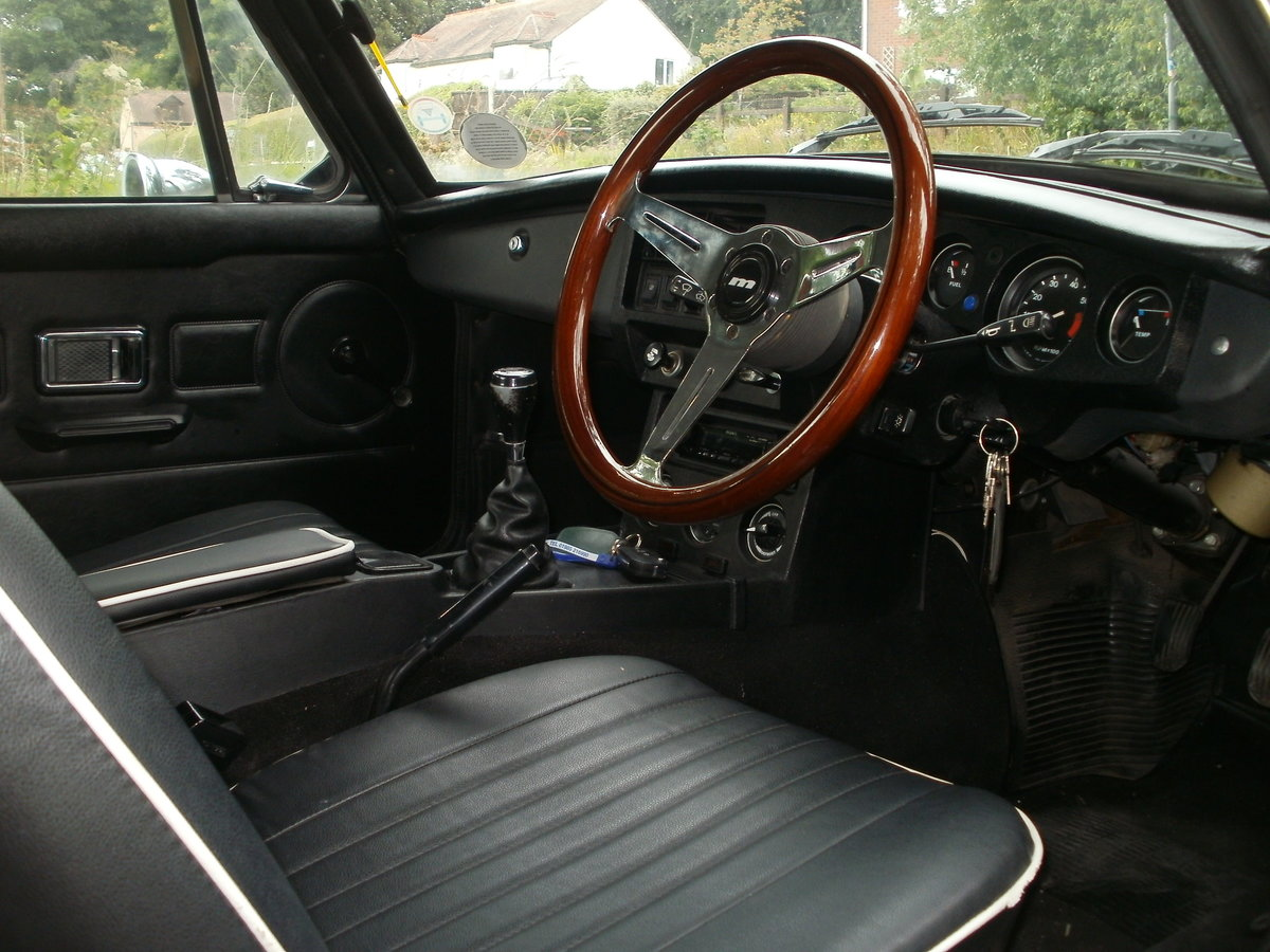 1981 mgbgt one of the best available SOLD (picture 4 of 6)