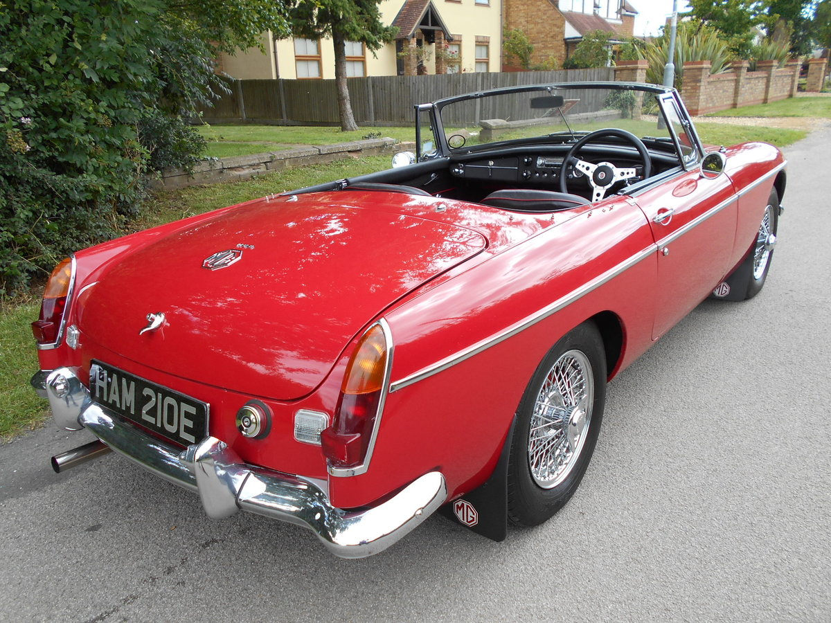 1967 MGB Roadster For Sale (picture 4 of 6)